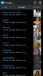 Android App - People Screen
